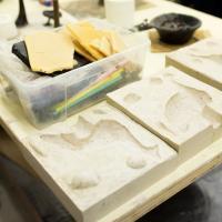 gietmal voor het wasmodel | Atelierbreda
