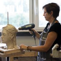 leerhard maken van het geboetseerde portret | Atelierbreda