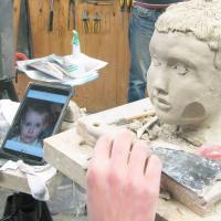 van ipad naar kinder portret | Atelierbreda