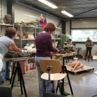 workshop naakt model boetseren | Atelierbreda