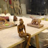 zittend figuur | Atelierbreda