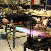 patineren bronzen figuur | Atelierbreda