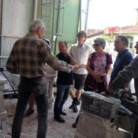 bezoek aan Jan Pater, Pietrasanta