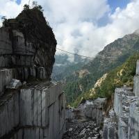 oude groeve op de berg  Altissomo